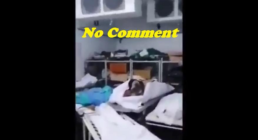 Tunisie – SCANDALEUX: VIDEO: Des cadavres entassés dans la morgue avec les poubelles!