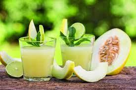 Recette : Smoothie de melon et citron