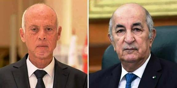Tunisie – Saïed s'entretient avec son homologue algérien