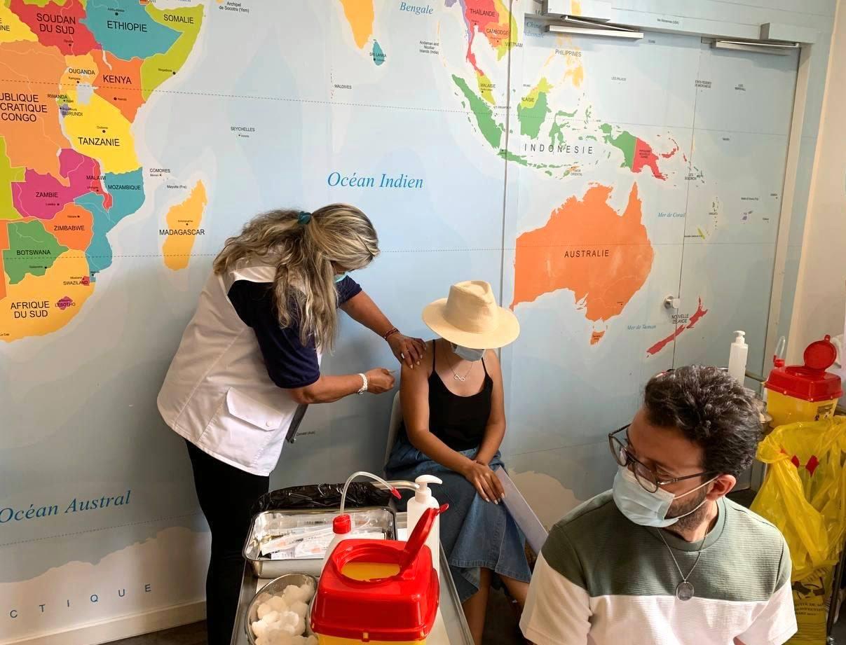 Lancement de la campagne de vaccination de la communauté française en Tunisie
