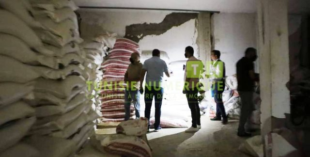 Tunisie – Gafsa: Descente sur les entrepôts des spéculateurs: Saisie de 75 tonnes de semoule et de farine