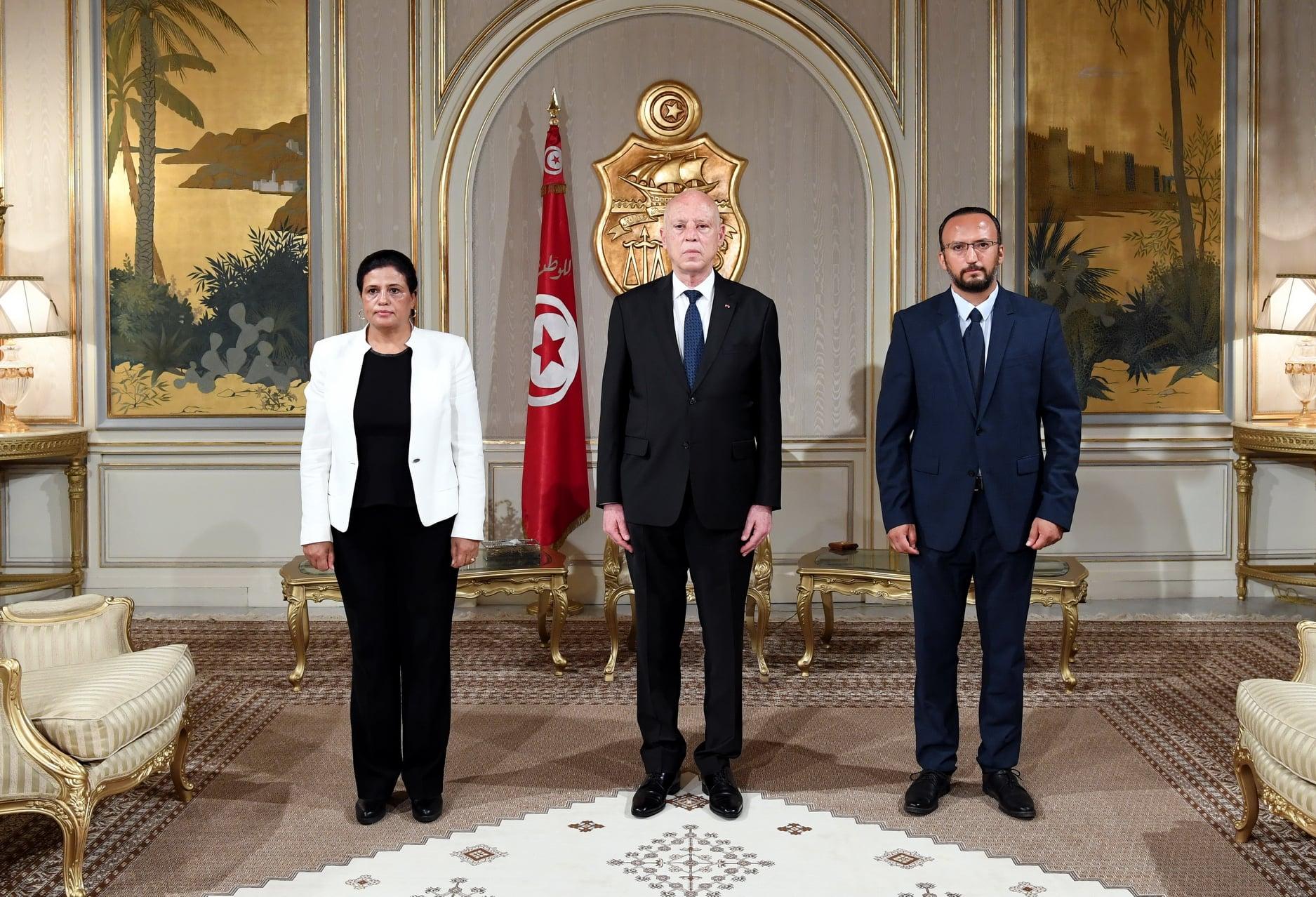 Tunisie [PHOTOS]: Cérémonie de prestation de serment de Sihem Boughdiri et Nizar Ben Néji