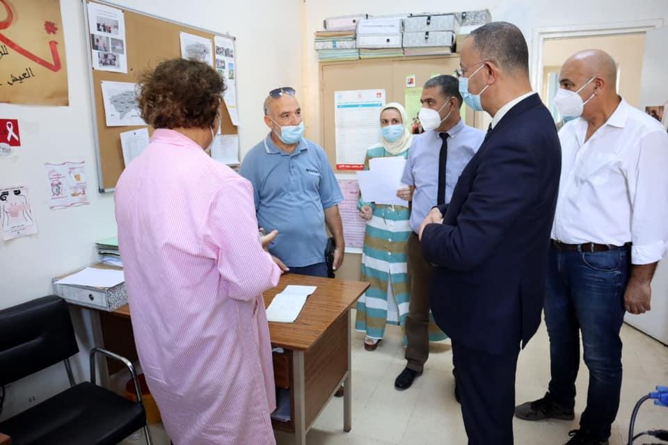 Ali Mrabet se rend à Bizerte pour superviser l'avancement de la campagne de vaccination