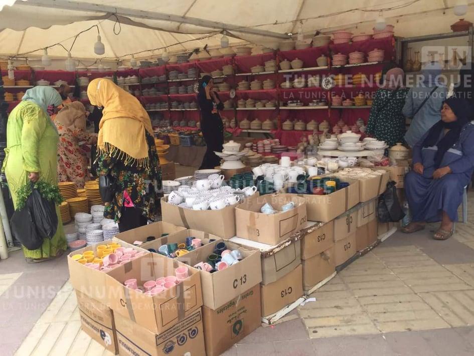 Béja [PHOTOS] : Inauguration d'une exposition des produits de l'artisanat