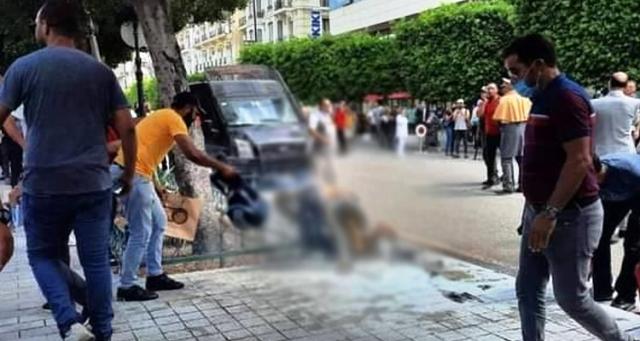 Tunisie – MAJ: Décès du jeune homme qui s'est immolé par le feu à l'avenue Bourguiba