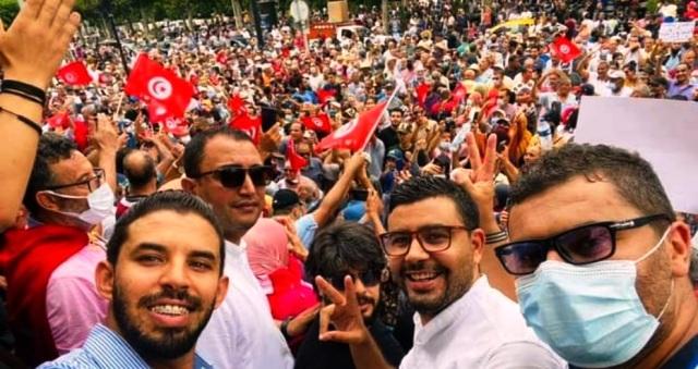Tunisie – Baraoumi: Les manifestations continueront jusqu'au retrait de la confiance de Kaïs Saïed