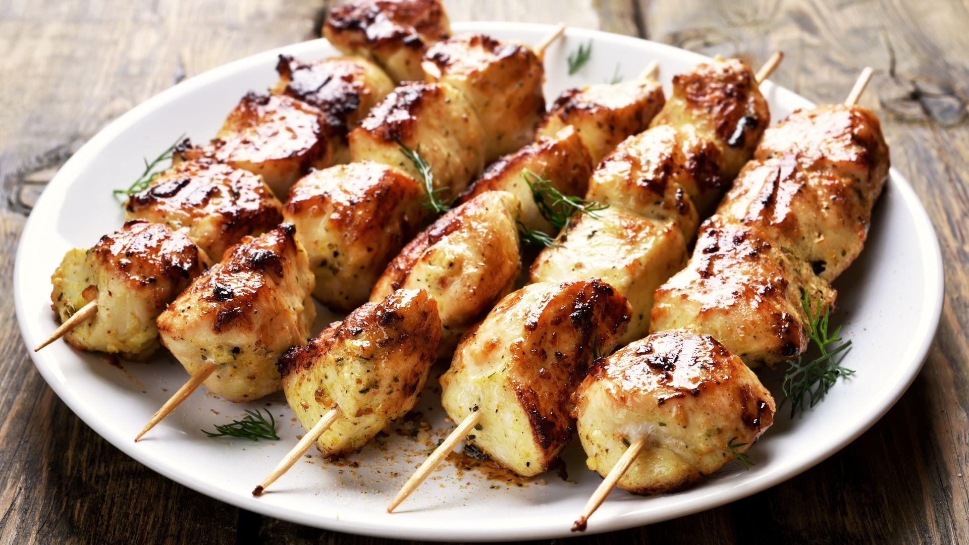 Recette : Chich taouk ( Brochettes de poulet libanaises)