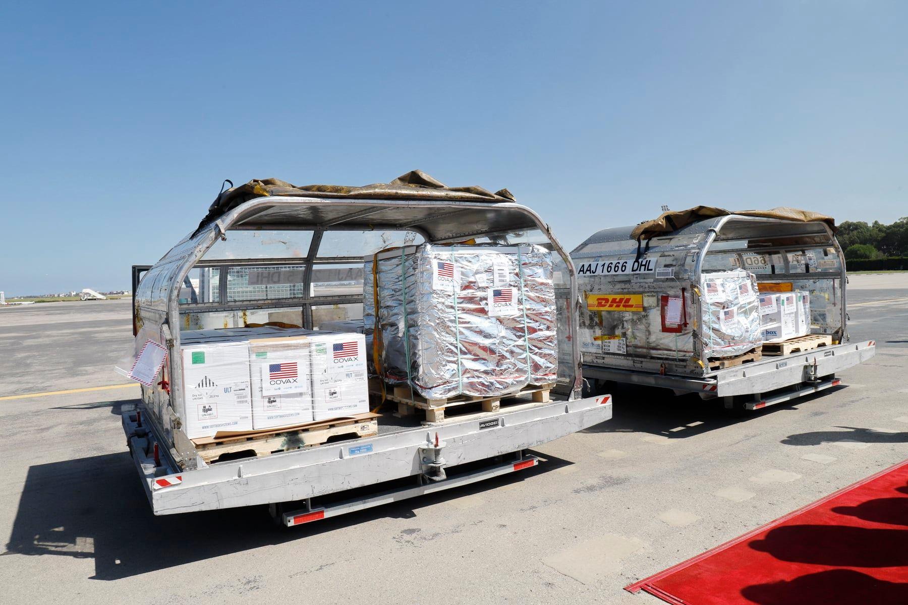 Covax: La Tunisie réceptionne 200.000 nouvelles doses du vaccin anti-Covid19