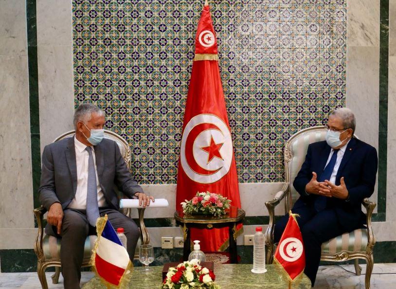 La situation en Tunisie au cœur d'une réunion entre Othman Jerandi et l'ambassadeur français