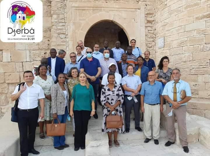 Tunisie-18e Sommet de la Francophonie : Une délégation diplomatique visite l'île de Djerba