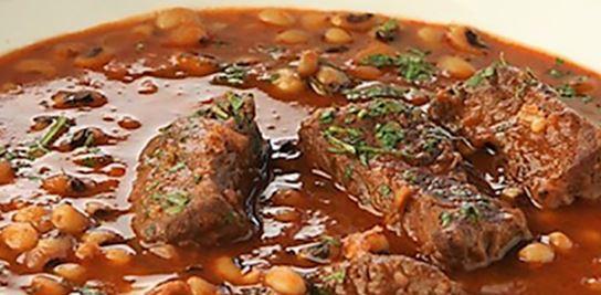 Recette : Loubia tunisienne (sauce aux haricots blancs et à la viande )