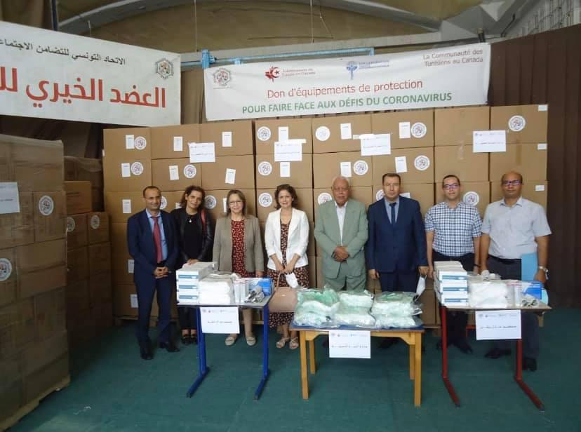 La communauté tunisienne au Canada fait don d'équipements médicaux aux hôpitaux tunisiens