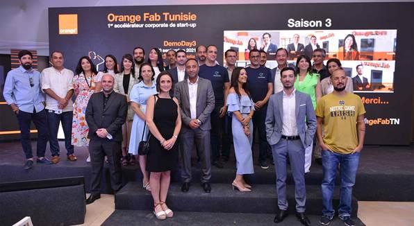 Saison 3 d'Orange Fab Tunisie : les start-up accélérées signent 6 nouveaux contrats business