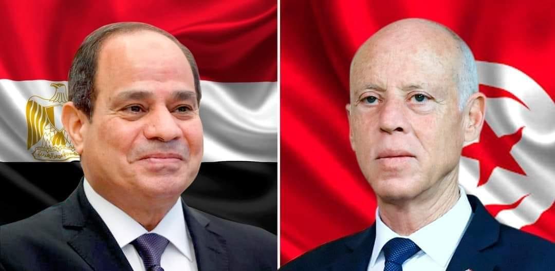 Tunisie-Egypte : Entretien téléphonique entre le président Kais Saied et son homologue égyptien
