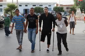 Tunisie: Des blessés de la Révolution menacent de se pendre devant le siège de la Constituante