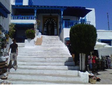 Tunisie: L'incendie au Café des Nattes (Kahwa Al Alia) de Sidi Bou Saïd n'est qu'une rumeur