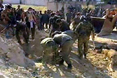 Syrie: plus de 40 cadavres de femmes et d'enfants découverts à Homs