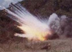 Explosion-mine