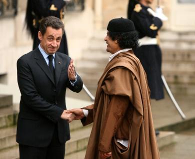Kadhafi-Sarko