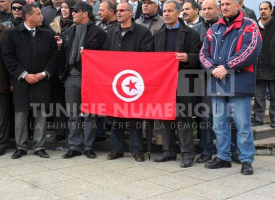 Tunisie: Des partisans d'Ennahdha présents à la manifestation du Syndicat des forces de sécurité intérieure