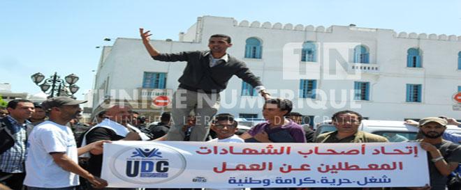 Vidéo – Reportage-Photos / Tunisie: La révolte des diplômés chômeurs, serait-ce le début de «La Kasbah 4» ?