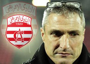Tunisie: Le Club Africain se sépare de Bernard Casoni
