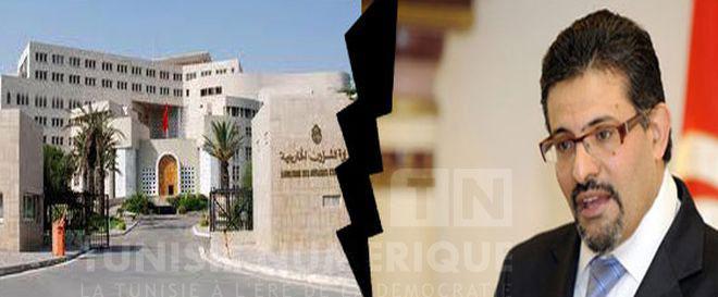 Tunisie le minist re des affaires etrang res chasse for Interieur ministere tunisie