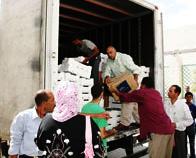 Tunisie-Kasserine: Convoi de solidarité de Monastir au profit des zones rurales à Haidra