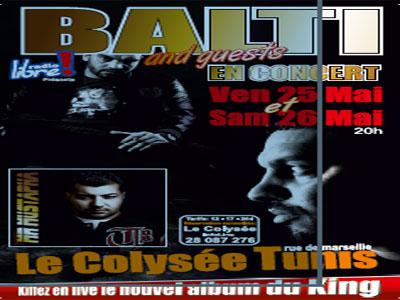 Tunisie: Balti en concert les 25 et 26 mai à la salle le Colisée