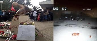 Tunisie : Destruction de la statue d'hommage à Chokri Belaid