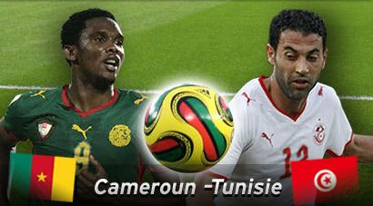 Date match tunisie cameroun