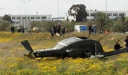 tunisie vid o crash d 39 un h licopt re de l 39 arm e nationale l 39 aouina part 172330. Black Bedroom Furniture Sets. Home Design Ideas