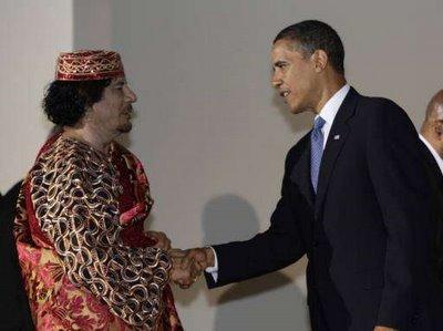 kadhafi-Obama