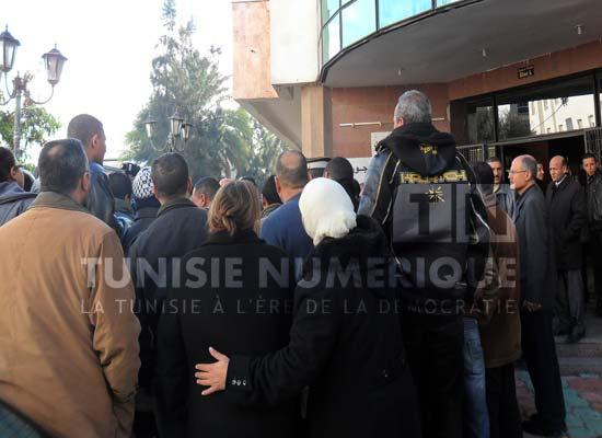 Tunisie: Sit-in devant le siège de la direction générale des prisons et de la rééducation