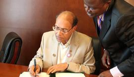 Vidéo-La Tunisie signe quatre conventions africaines à Addis Abeba
