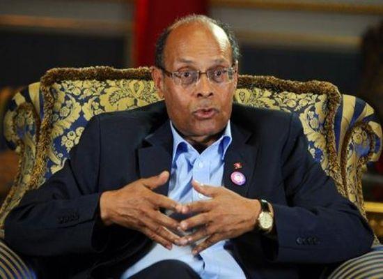 Tunisie: Marzouki discute avec des responsables sécuritaires l'évolution de la situation dans le pays