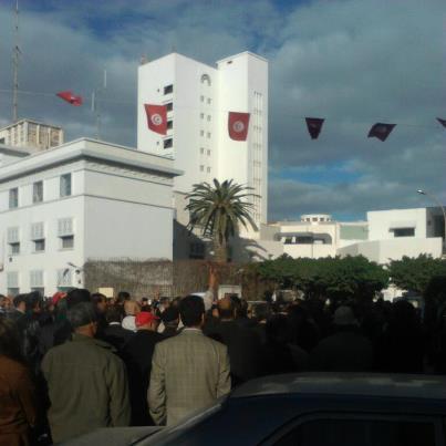 Tunisie – UGTT : Sousse : Marche de protestation
