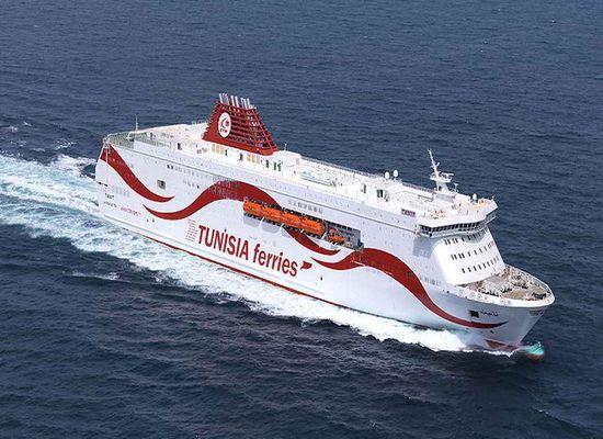 tunisie le nouveau navire tanit accostera samedi au port de la goulette part 130025. Black Bedroom Furniture Sets. Home Design Ideas